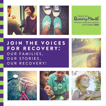 Recovery Month Events In Your Area